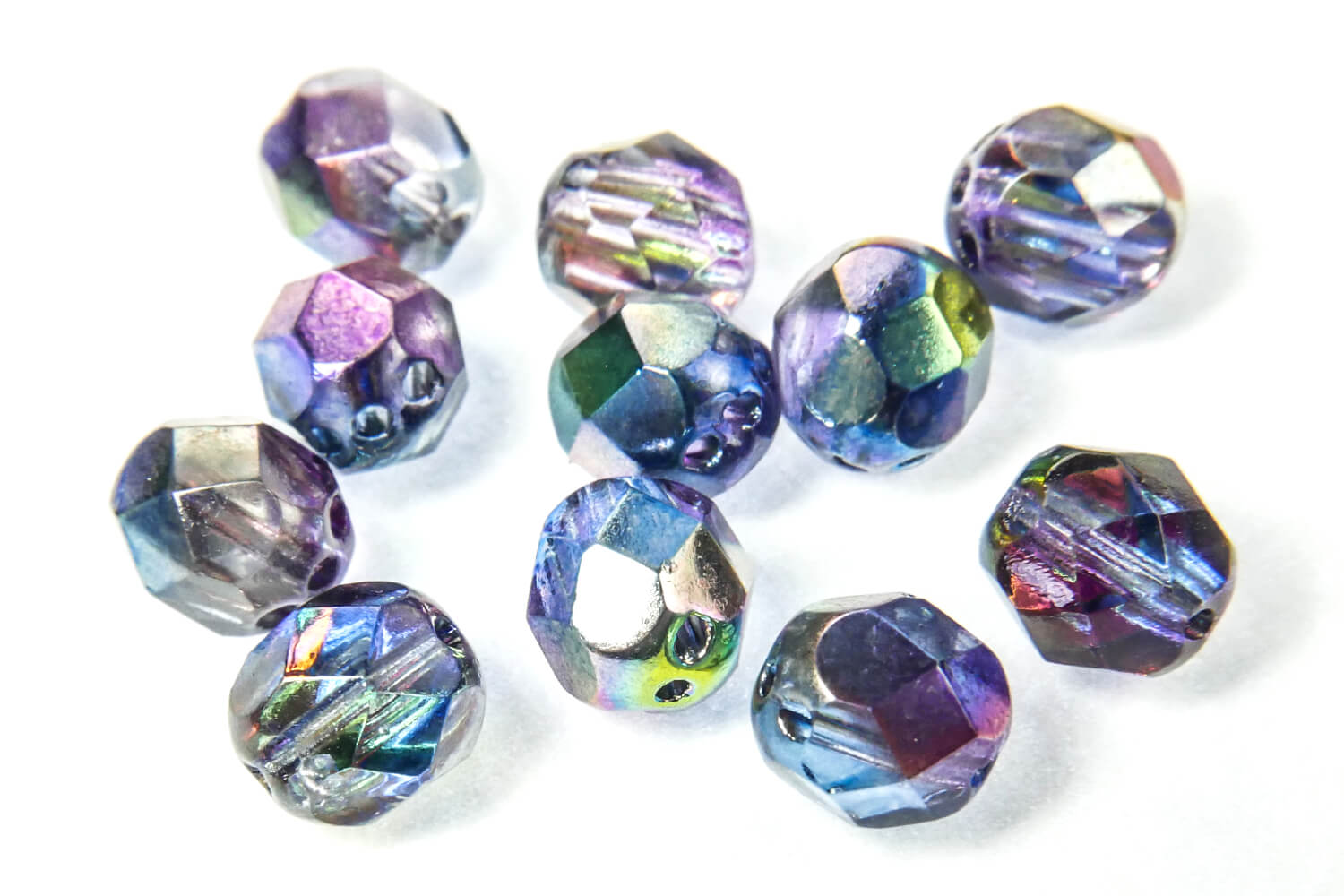 Potomac Exclusives / Potomac Exclusive Factory Packs / RounTrio® Faceted Beads Factory Packs