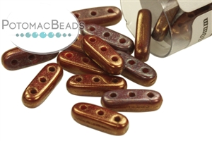 Czech Glass / 3-Hole + Beads / CzechMates 3-Hole Beam