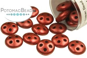 Czech Pressed Glass Beads / CzechMates Beads / QuadraLentil Beads