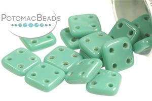 Czech Pressed Glass Beads / CzechMates Beads / QuadraTile Beads