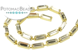 Jewelry Making Supplies & Beads / Beads and Crystals / Baguette Chain