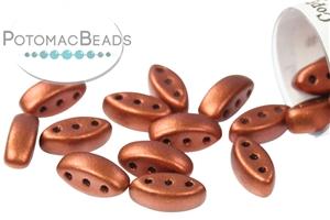 Czech Pressed Glass Beads / 3 Hole Beads / Cali Beads