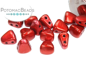 Czech Pressed Glass Beads / Czech Glass & Japanese Two Hole Beads / Nib-bit