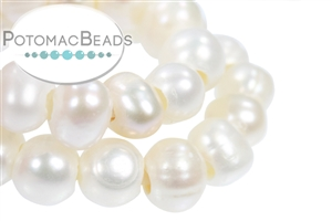 Jewelry Making Supplies & Beads / Pearls / Large Hole Freshwater Pearls