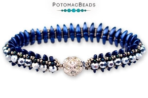 How to Bead Jewelry / Free Beading Patterns PDF / Prong Bead Patterns
