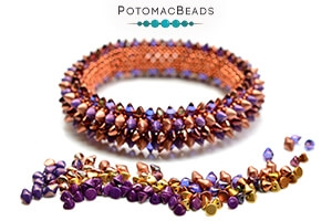 How to Bead Jewelry / Free Beading Patterns PDF / Button Bead Patterns