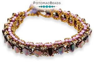 How to Bead Jewelry / Free Beading Patterns PDF / Infinity Bead Patterns