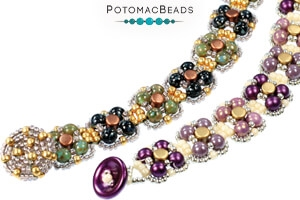 How to Bead Jewelry / Free Beading Patterns PDF / Pellet Bead Patterns