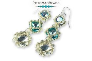 How to Bead Jewelry / Free Beading Patterns PDF / Rivoli Patterns