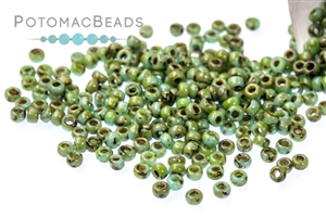 Seed Beads / Miyuki Seed Beads 15/0 / Miyuki Seed Beads Size 15/0 Picasso Colors