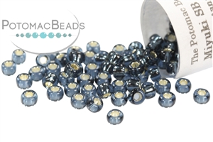 Seed Beads / Miyuki Seed Beads (8/0) / Miyuki 8/0 Seed Beads: Silver-Lined Colors