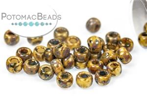 Seed Beads / Miyuki Seed Beads (6/0) / 6/0 Picasso