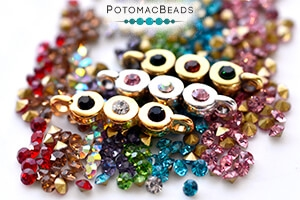 How to Bead Jewelry / Free Beading Patterns PDF / Chaton Patterns
