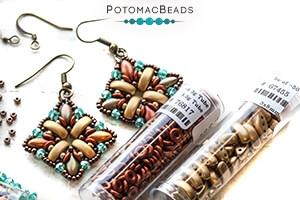 How to Bead Jewelry / Free Beading Patterns PDF / Cali Bead Patterns