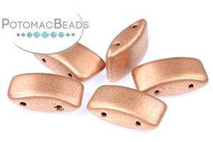 Czech Pressed Glass Beads / Czech Carrier Beads