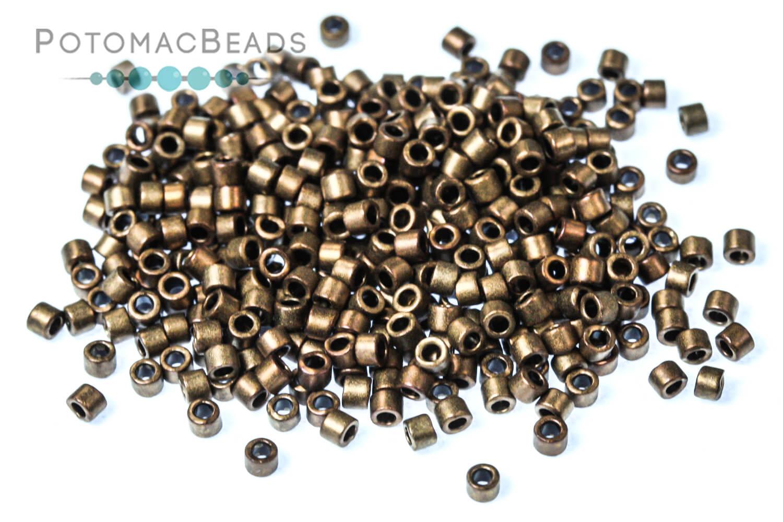 Seed Beads / Miyuki Delicas Beads / Delica Beads Size 11/0 - Metallic Finish Colors