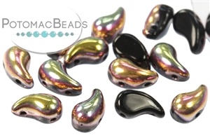 Czech Pressed Glass Beads / Czech Glass & Japanese Two Hole Beads / ZoliDuo® Beads