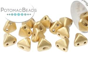Czech Pressed Glass Beads / Czech Glass & Japanese Two Hole Beads / Super Kheops® Par Puca®