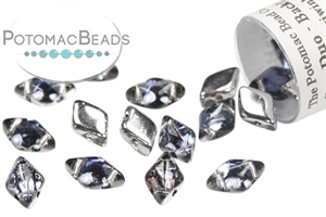 Czech Pressed Glass Beads / GemDuo Beads
