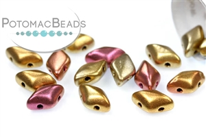 Czech Glass / 2-Hole Beads / GemDuo® Bead