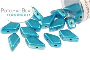 Czech Pressed Glass Beads / Czech Glass & Japanese Two Hole Beads / Kite Bead