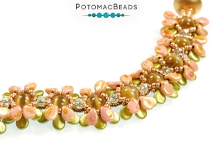 How to Bead Jewelry / Free Beading Patterns PDF / Pip Bead Patterns