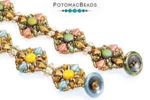 How to Bead Jewelry / Free Beading Patterns PDF / Mini Silky Bead Patterns