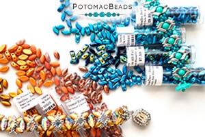 How to Bead Jewelry / Free Beading Patterns PDF / IrisDuo Bead Patterns