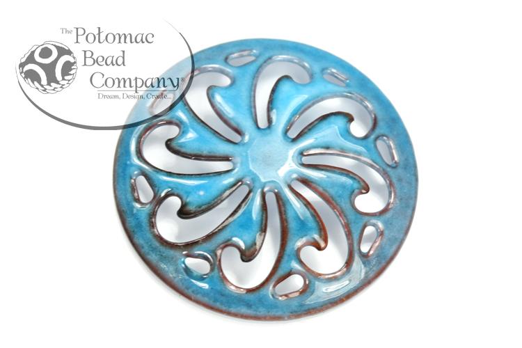 Other Beads & Supplies / Metal Beads & Findings / Gardanne Beads / Gardanne Beads Pinwheels