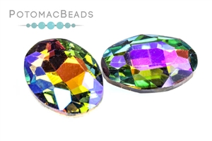 Jewelry Making Supplies & Beads / Beads and Crystals / Potomac Crystal Ovals