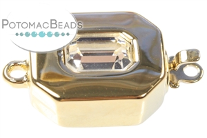 Jewelry Making Supplies & Beads / Unique Jewelry Clasps / Claspgarten 23kt Gold Plated Clasps