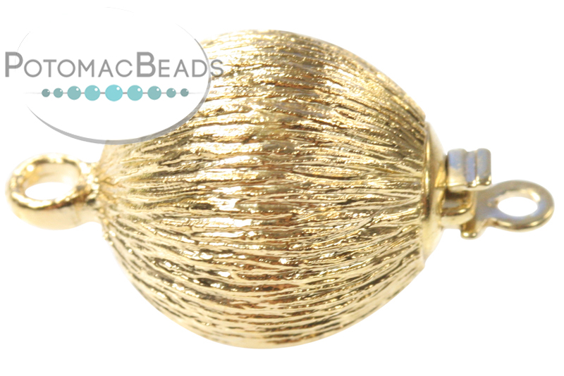Jewelry Making Supplies & Beads / Unique Jewelry Clasps / Claspgarten Single Strand Clasps