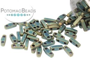 Czech Glass / 2-Hole Beads / Miyuki Quarter Tila
