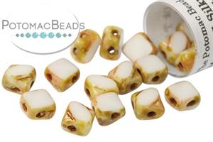 Czech Pressed Glass Beads / Table Cut Mini Silky Beads