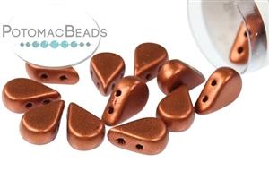Czech Pressed Glass Beads / Les Perles par Puca® / Amos® par Puca Beads®