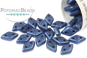 Czech Glass / 2-Hole Beads / CzechMates 2-Hole Diamond