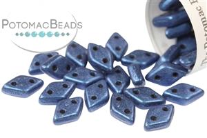 Czech Pressed Glass Beads / Czech Glass & Japanese Two Hole Beads / CzechMates 2-Hole Diamond