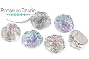 Czech Pressed Glass Beads / Baroque Beads