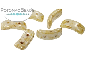 Czech Glass / 2-Hole Beads / Bow Bead