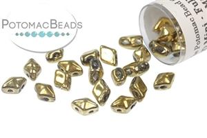 Czech Pressed Glass Beads / DiamonDuo Mini® Bead