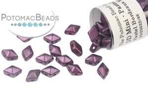 Czech Pressed Glass Beads / Czech Glass & Japanese Two Hole Beads / DiamonDuo Mini® Bead