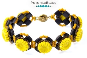 How to Bead Jewelry / Free Beading Patterns PDF / Sunflower Bead Patterns