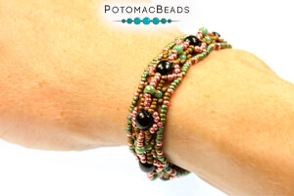 How to Bead Jewelry / Free Beading Patterns PDF / Trinity Bead Patterns