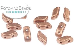 Czech Pressed Glass Beads / StormDuo