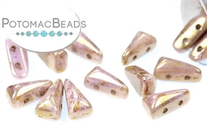 Czech Pressed Glass Beads / Vexolo