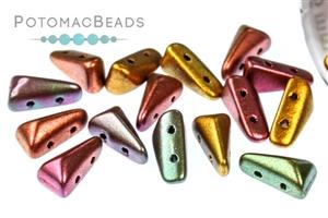 Czech Glass / 2-Hole Beads / Vexolo