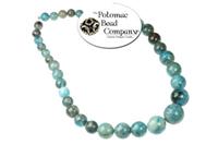 Jewelry Making Supplies & Beads / Gemstone Beads & Semi Precious Stone Beads / Sort By Size / Graduated Gemstone Rounds
