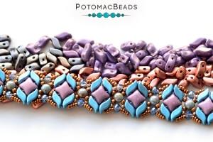 How to Bead Jewelry / Free Beading Patterns PDF / StormDuo Patterns
