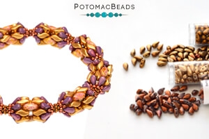How to Bead Jewelry / Free Beading Patterns PDF / DropDuo Patterns