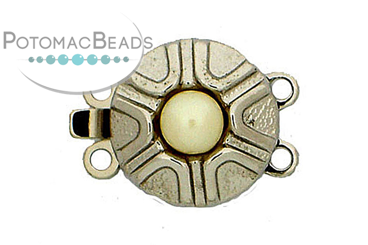 Jewelry Making Supplies & Beads / Unique Jewelry Clasps / Claspgarten Multi Strand Clasps / Claspgarten 2-Strand Clasps